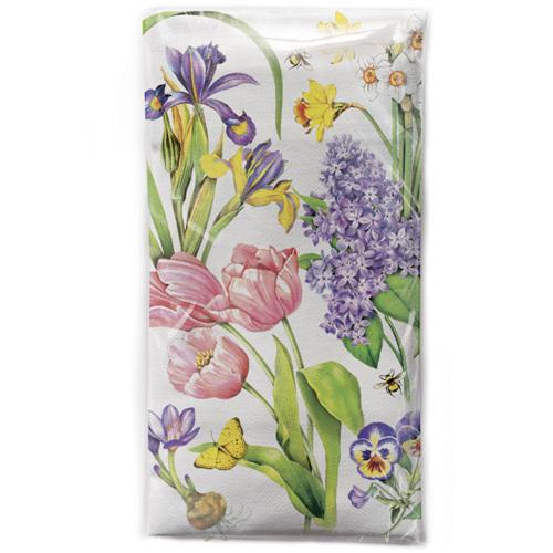 Spring Flower Medley Flour Sack Towel