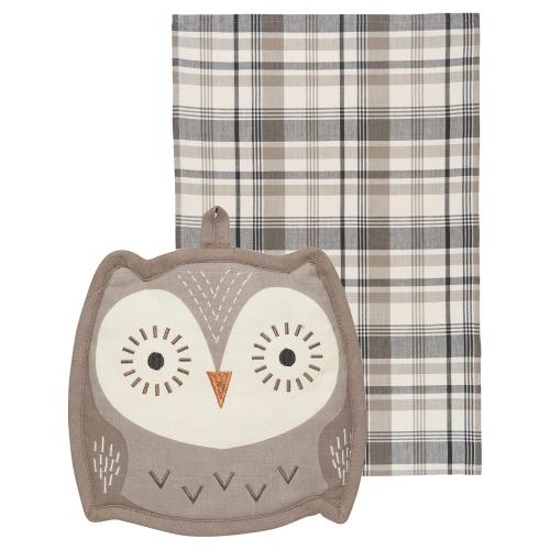 Oliver Owl Pocket Pals Kitchen Set