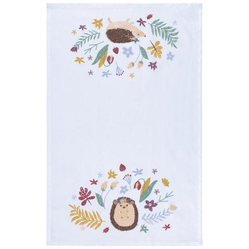 Hedgehogs Printed Dishtowel