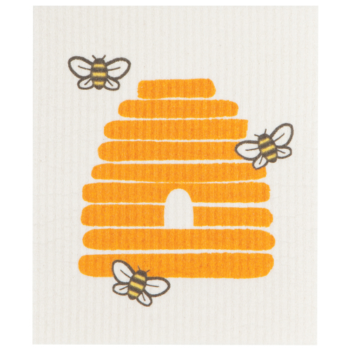 Bees Swedish Dishcloth