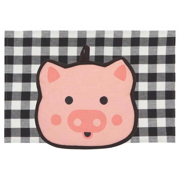 Pig Pocket Pals Kitchen Set