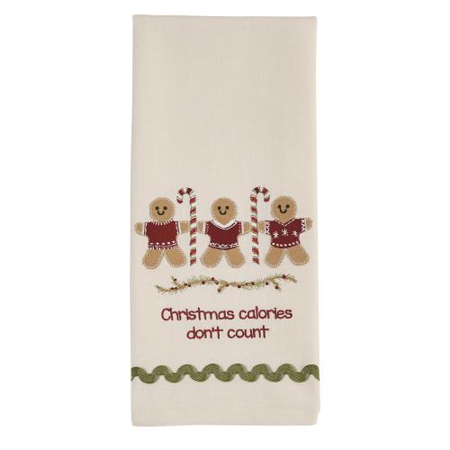 Christmas Calories Towel