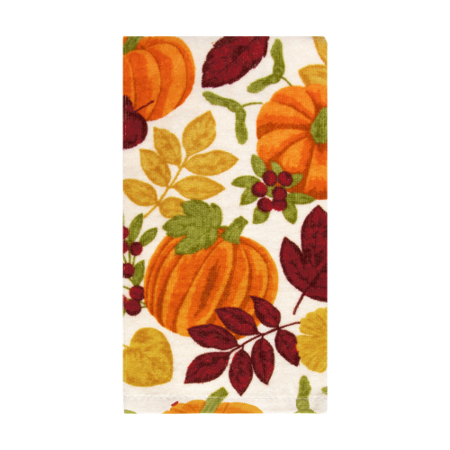 Colors of Harvest Kitchen Towel