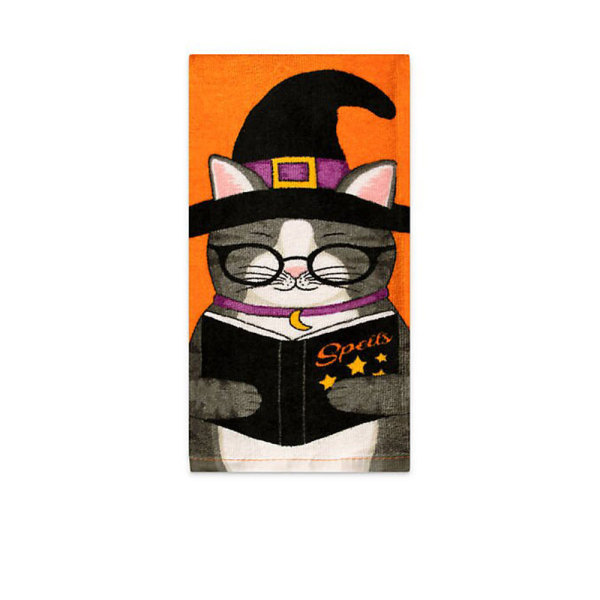 Witchy Kitty Kitchen Towel