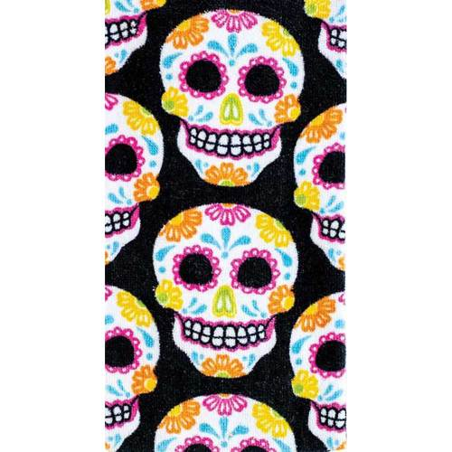 LTD QTY!  Sugar Skulls Allover Kitchen Towel