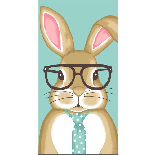 SALE!  Boy Bunny Kitchen Towel