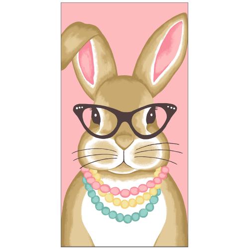 Girl Bunny Kitchen Towel