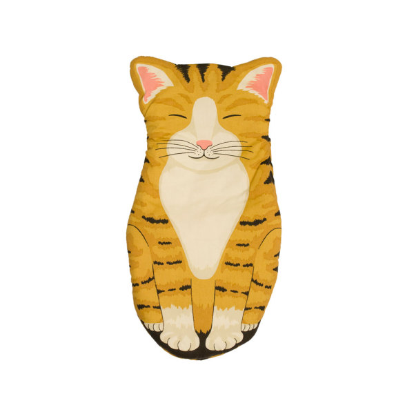 LTD QTY!  Orange Tabby Cat Oven Mitt