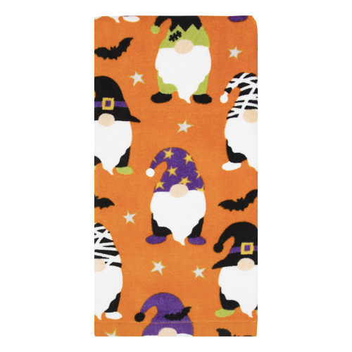 Dress Up Gnomes Orange Towel