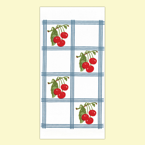 Country Cherry Kitchen Towel