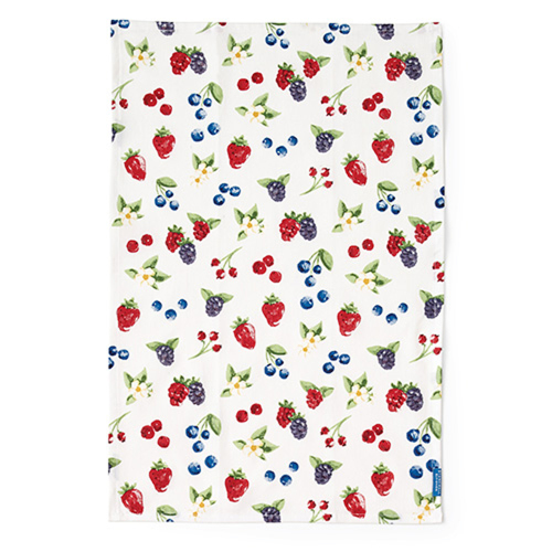 Mixed Berries Tea Towel