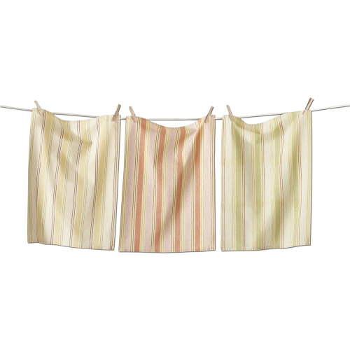 SALE!  Honey Stripe Dishtowel Set