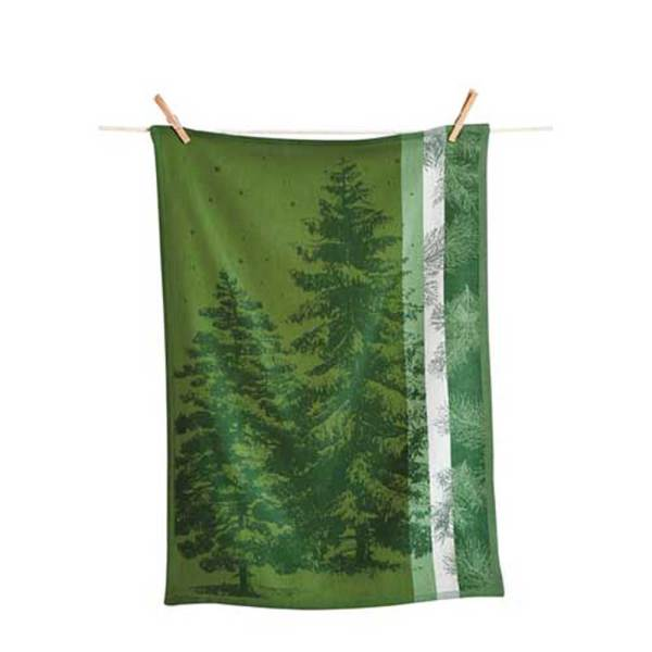Evergreen Jacquard Towel