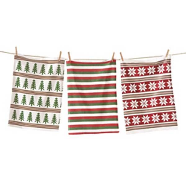 SALE!  Holiday Joy Dishtowel Set