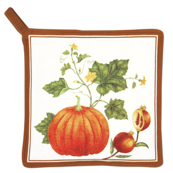 LTD QTY! Pumpkin Vine Potholder