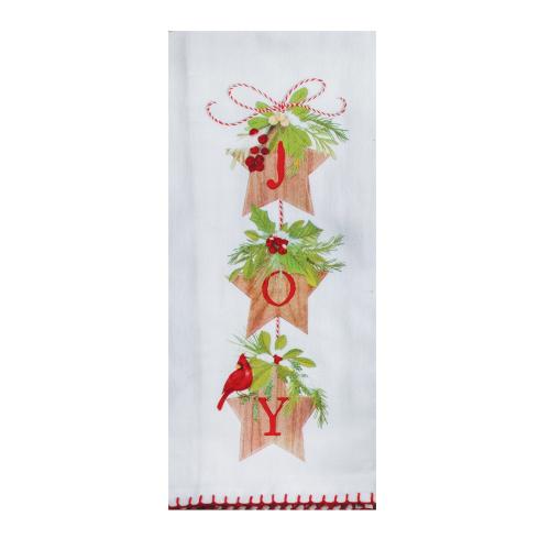Holiday Joy Flour Sack Towel