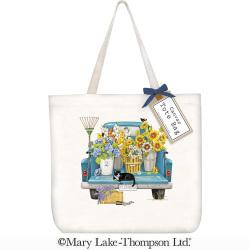 SALE!!  Flower Truck Tote Bag