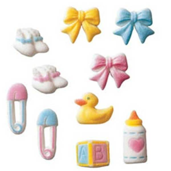 Baby Assortment Sugar Decorations