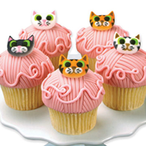 Cat Assortment Sugar Decorations