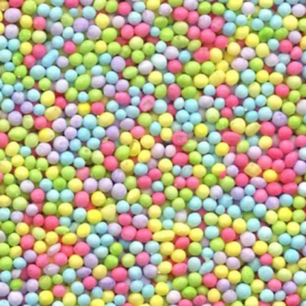 Tiny Pastel Mix Nonpareils