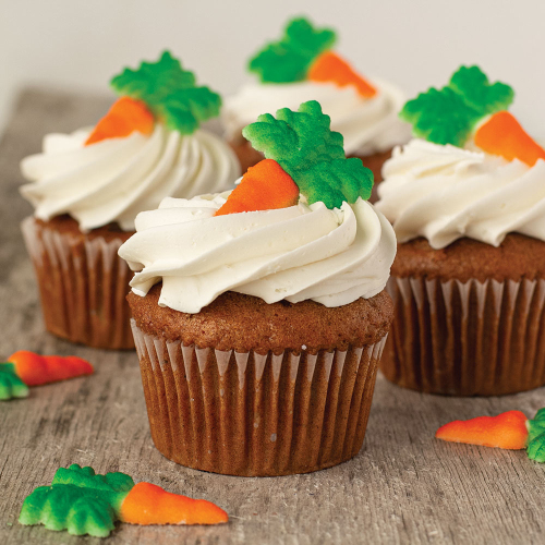 Carrots Sugar Decorations 2""