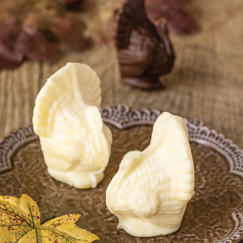 3D Turkey Chocolate Mold
