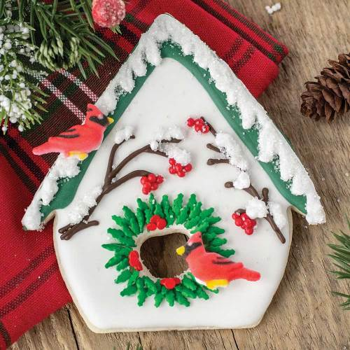 Fancy Bird House Cookie Cutter
