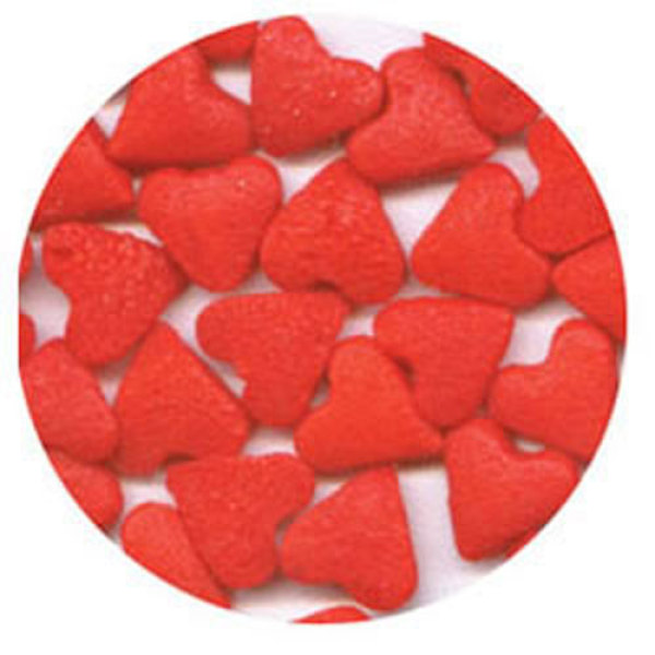 Small Red Hearts Sprinkles