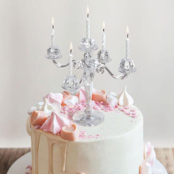 Elegant Cake Candelabra