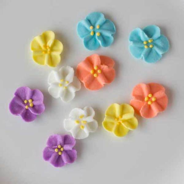 Wild Rose Minis Icing Decorations