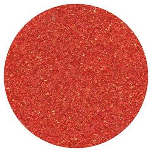 Red Fine Crystal Sanding Sugar
