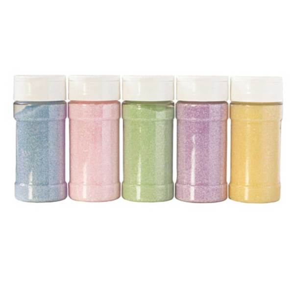Spring Pastel Sanding Sugar Collection Set