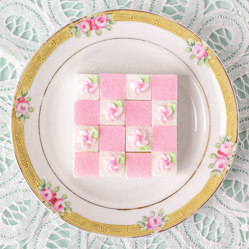 Pink & Floral Tea Sugars
