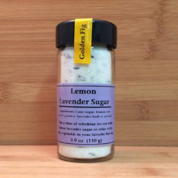 Lemon Lavender Sugar