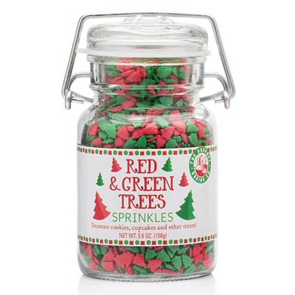 LTD QTY! Red & Green Tree Sprinkles