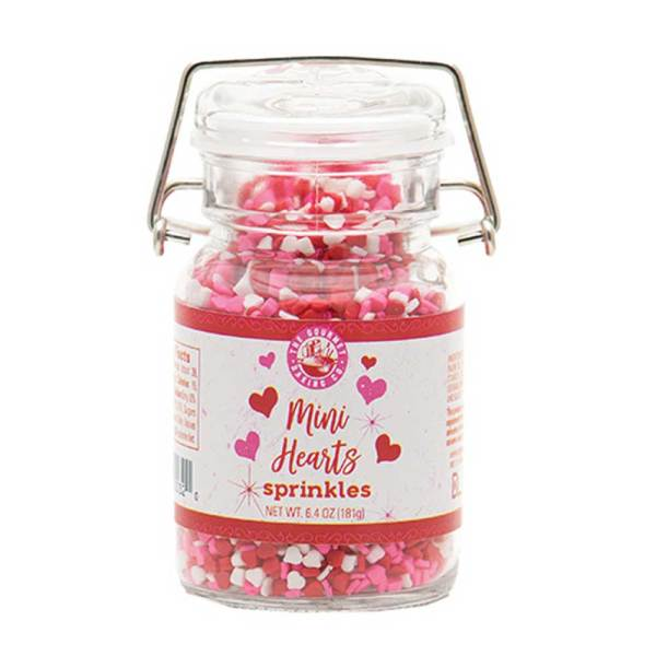 Mini Hearts Sprinkles
