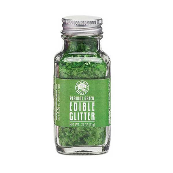 Peridot Green Edible Glitter