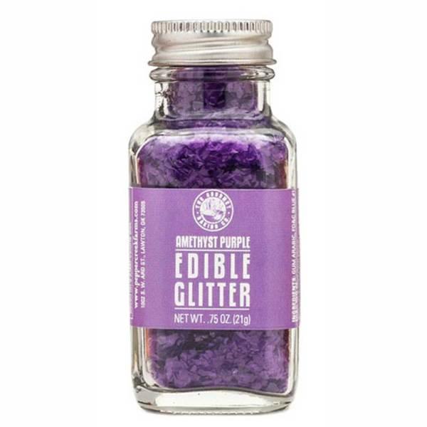 Amethyst Purple Edible Glitter