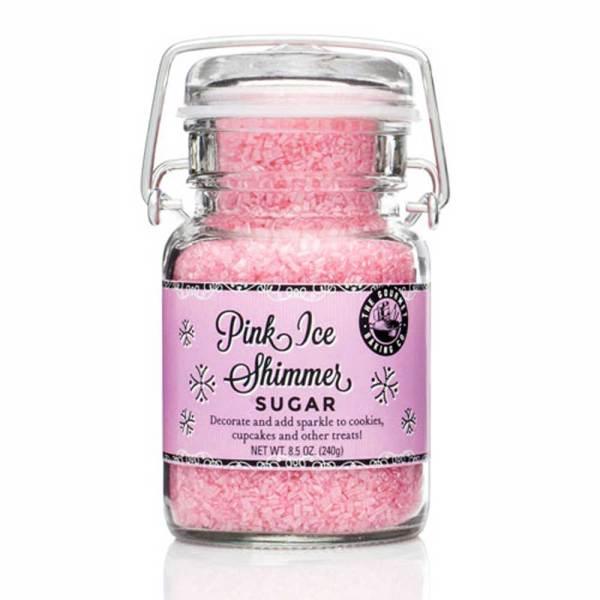 Pink Ice Shimmer Sugar 7.56 oz.