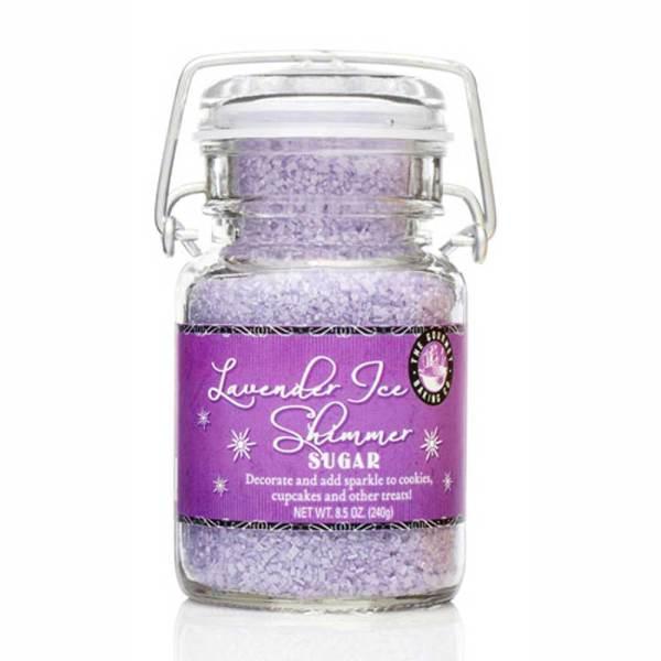 Lavender Ice Shimmer Sugar