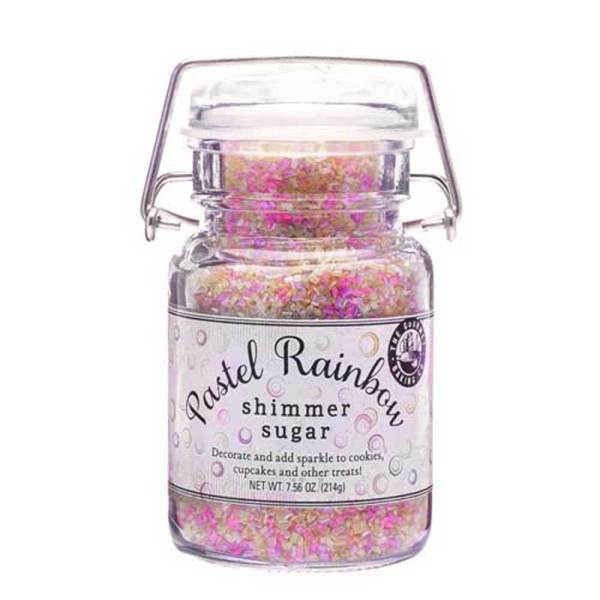 LTD QTY!  Pastel Rainbow Shimmer Sugar