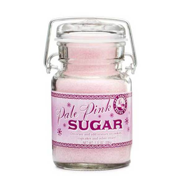 Pale Pink Sanding Sugar