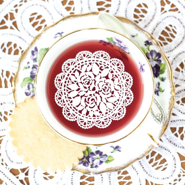 Rosette Sugar Tea Doilies