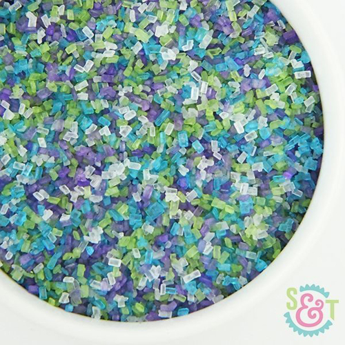 Sea Glass Sprinkle Mix