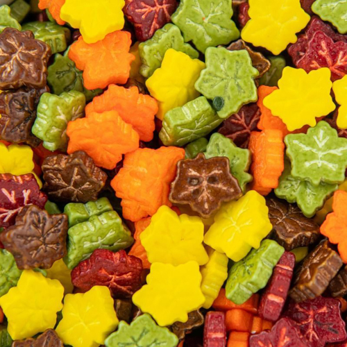 Fall Leaves Candy Sprinkles