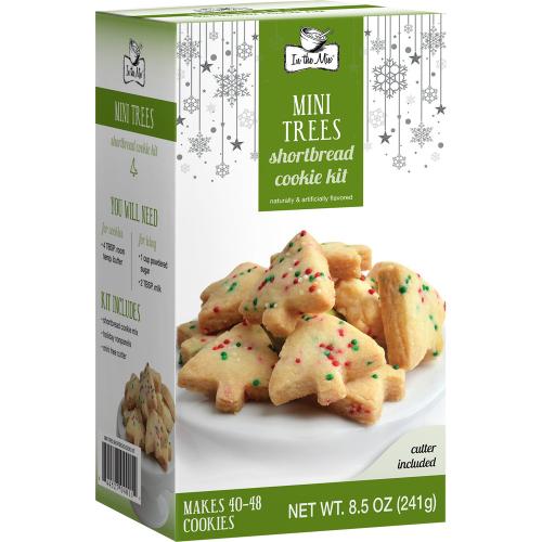 LTD QTY  Shortbread Mini Tree Cookie Mix Kit