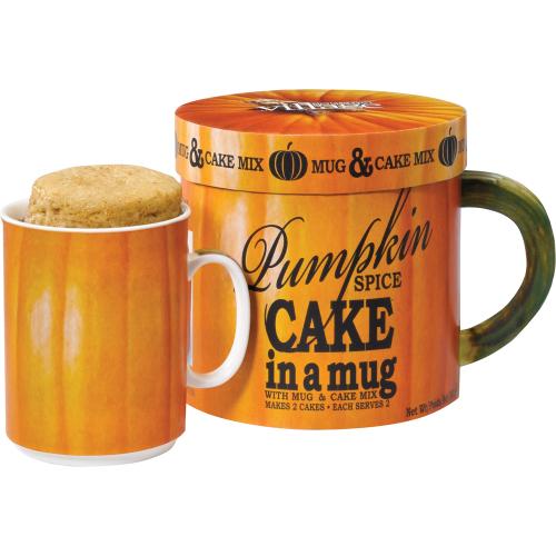 Pumpkin Spice Cake in A Mug