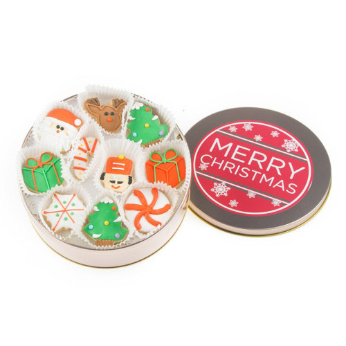 SALE!  Christmas Mini Cookie Tin