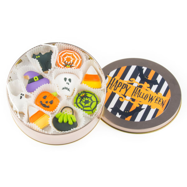 Halloween Mini Cookie Tin