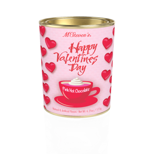LTD QTY!  Happy Valentine's Pink Hot Chocolate